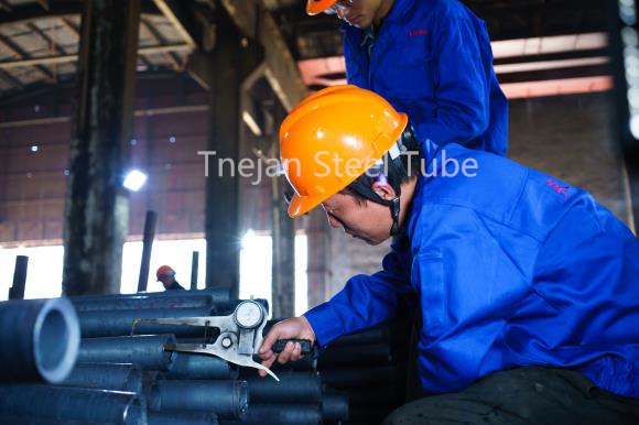 Raw Tube Size and Surface Quality Inspection